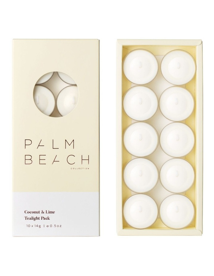 Coconut & Lime -  Tealight Pack image 1