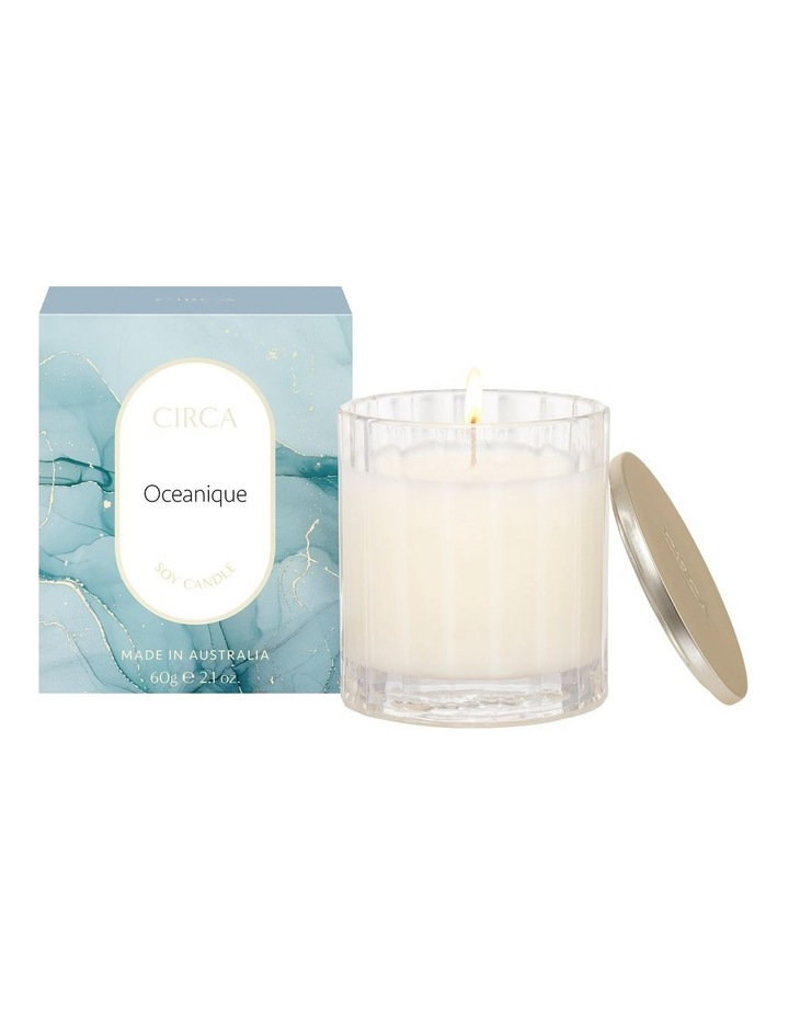 Oceanique Scented Soy Candle 60g image 1