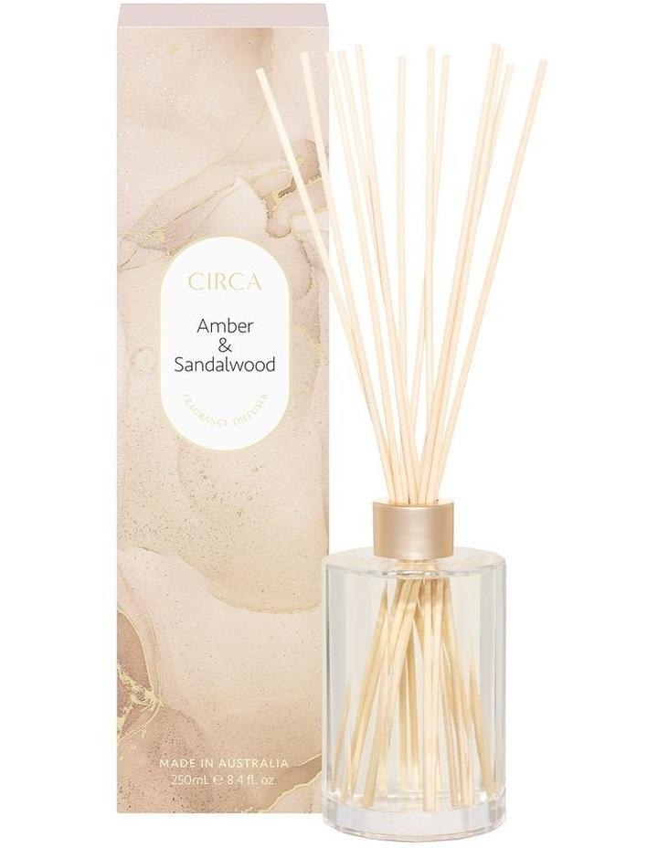 Amber & Sandalwood Fragrance Diffuser 250ml image 1
