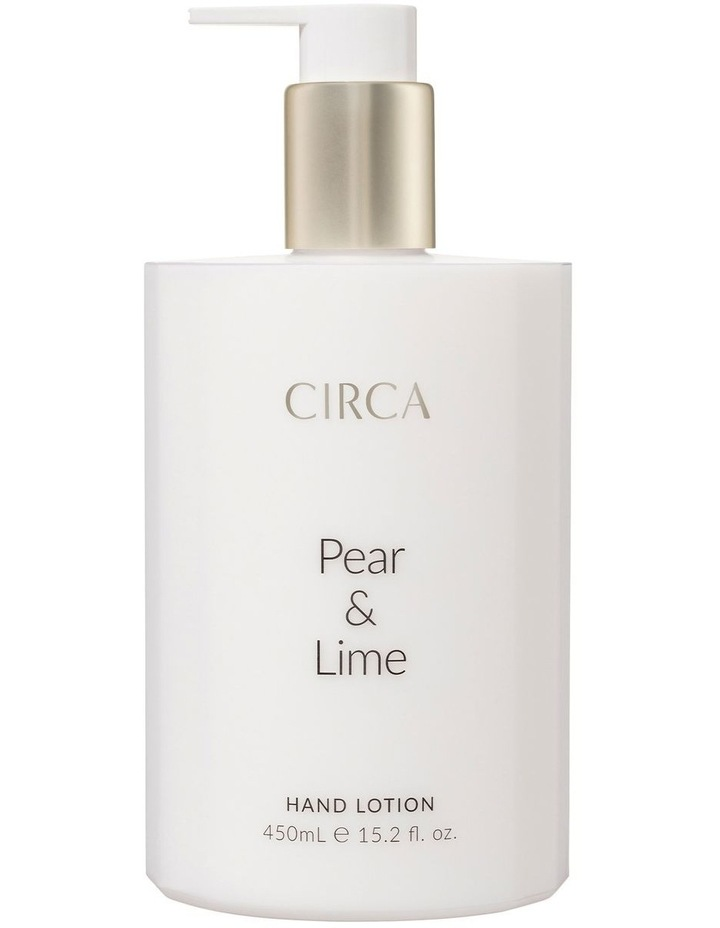 Pear & Lime Hand Lotion 450ml image 1