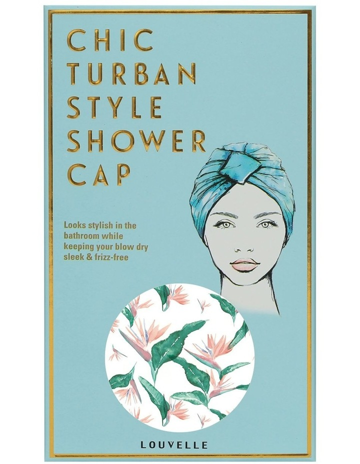 Louvelle Amelie Shower Cap In Hawaiian Bird Of Paradise image 1