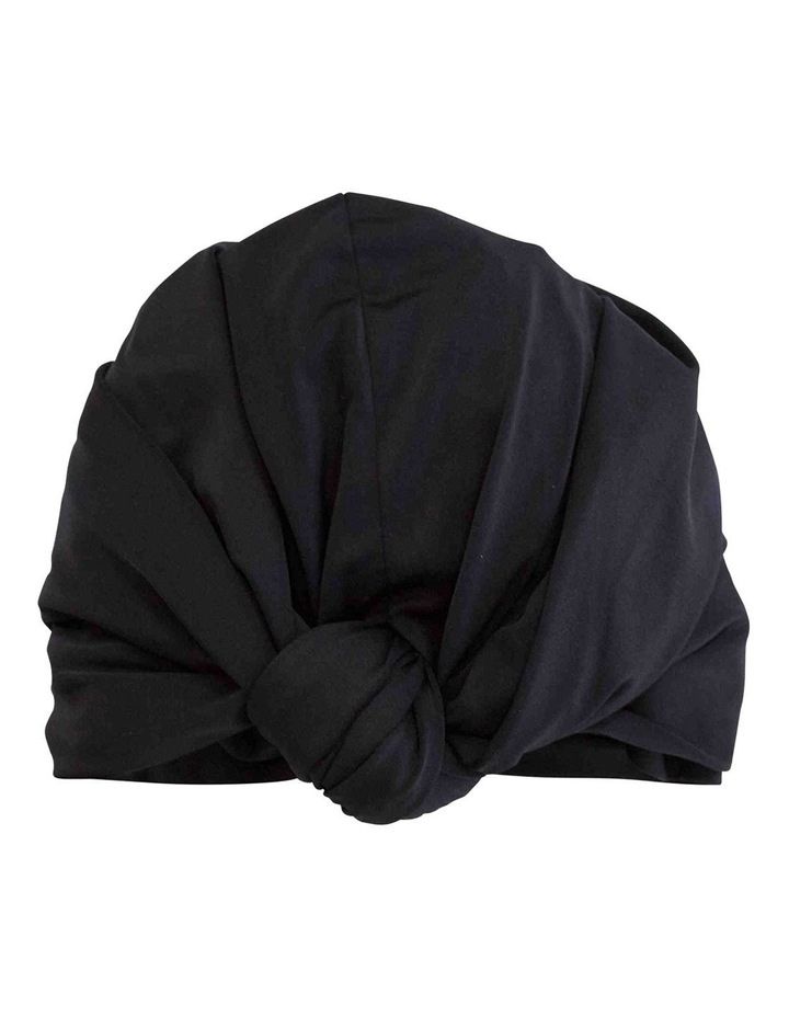 Louvelle Dahlia Shower Cap In Black image 2