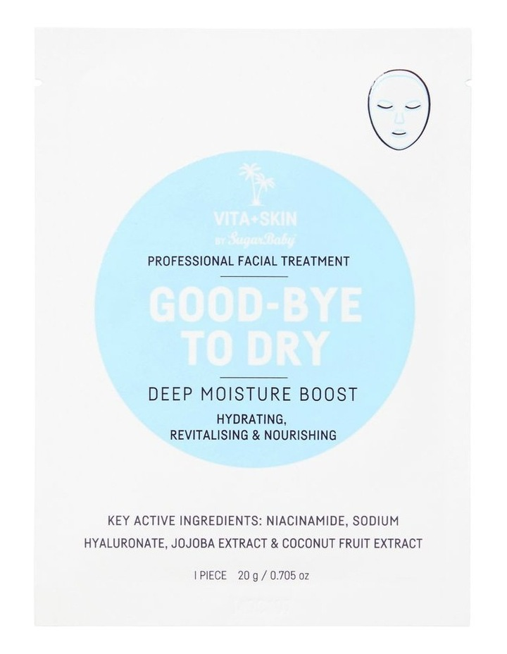Good Bye To Dry Face Mask Sachet image 1