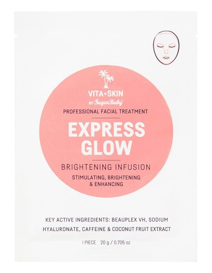 Express Glow Face Mask Sachet image 1