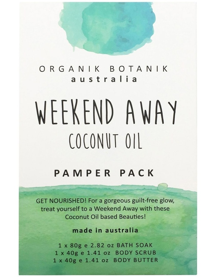 Weekend Away Body Coconut Oil image 1