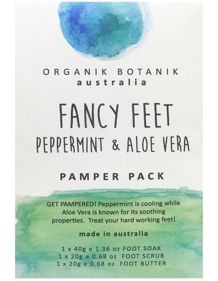 Text Fancy Feet Peppermint image 1
