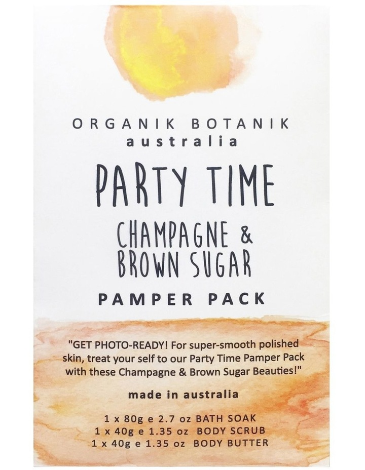 Party party Body Champagne Brown Sugar image 1