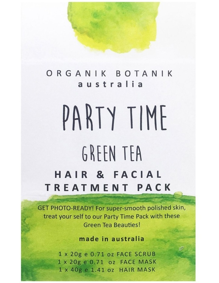 Party Time Face Green Tea image 1
