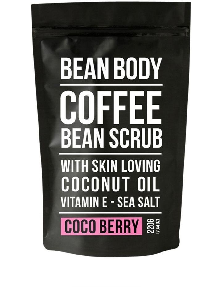 Body Coffee & Coco Berry Scrub image 1