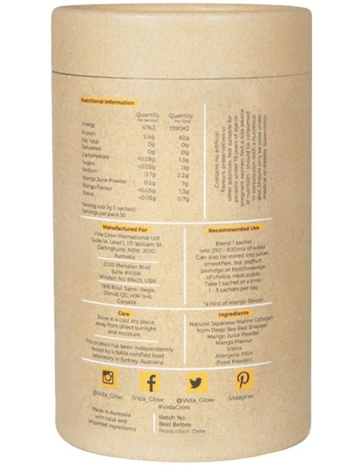 Mango Marine Collagen 30 Sachets image 2