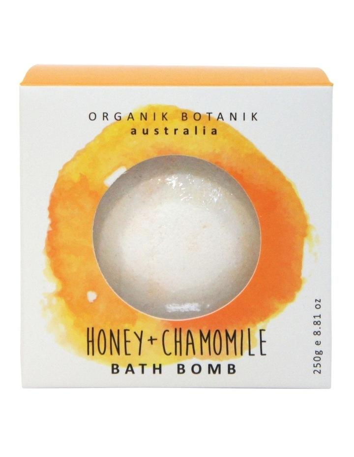 Organik Botanik Honey Bath Bomb 250g image 1