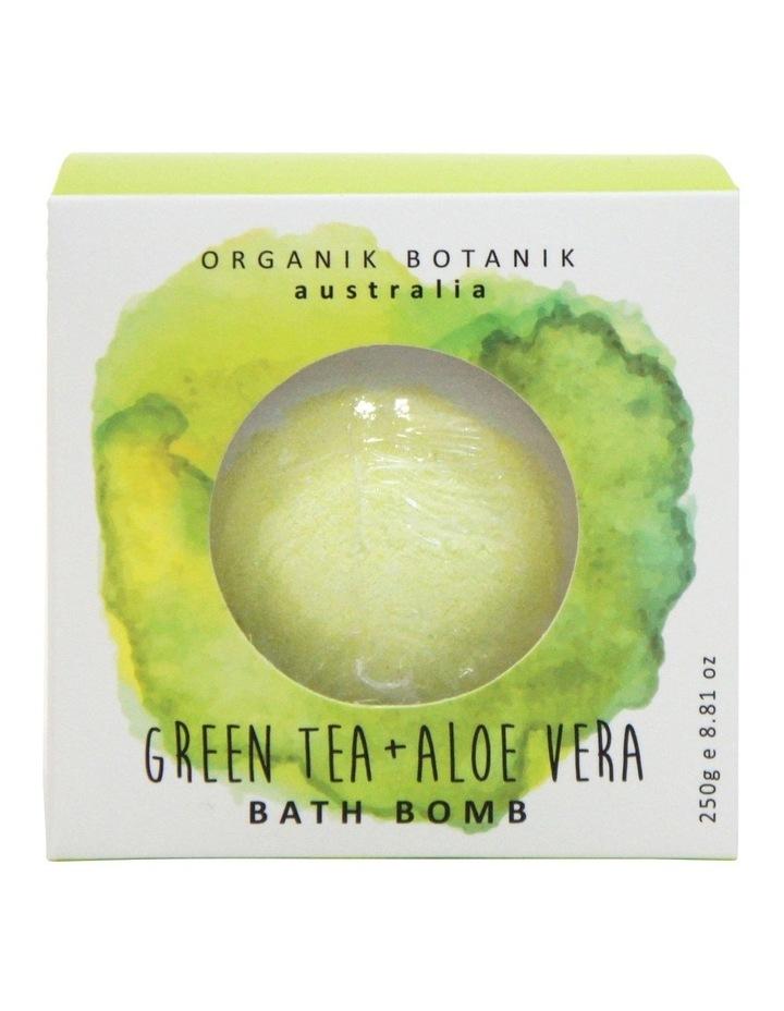 Green Tea Bath Bomb 250g image 1