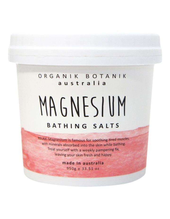 Organik Botanik 1KG Splotch Pink Himilayan BATH SALT TUB image 1