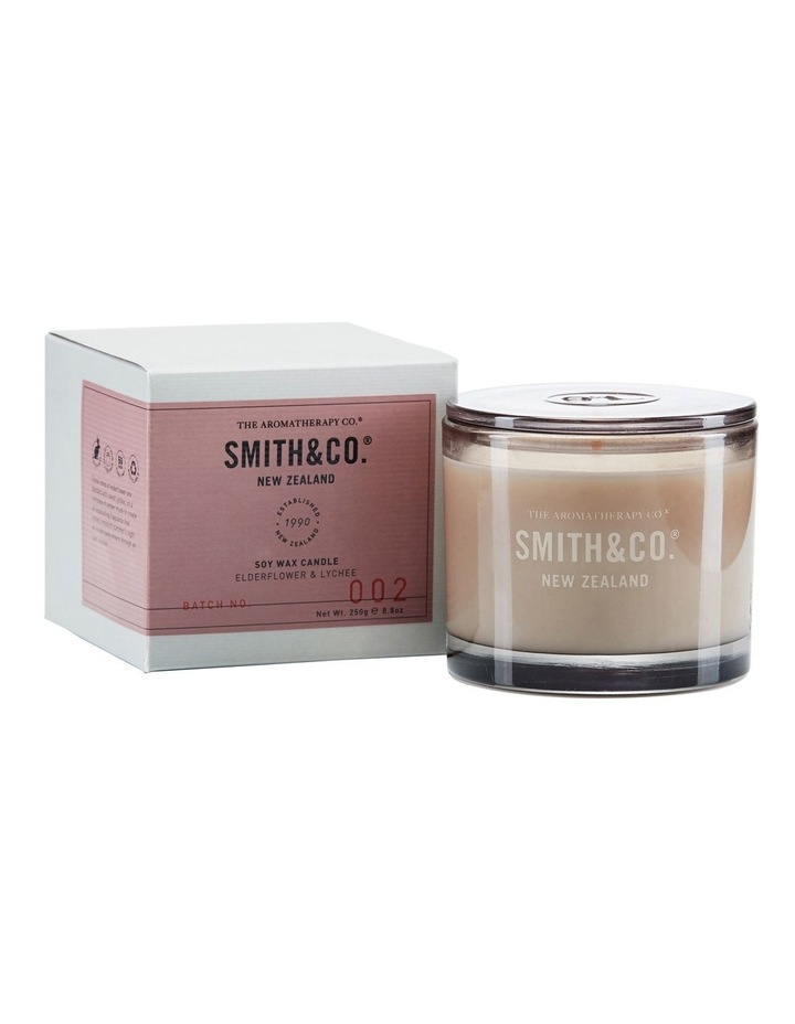Smith & Co Candle 250g Elderflower & Lychee image 1