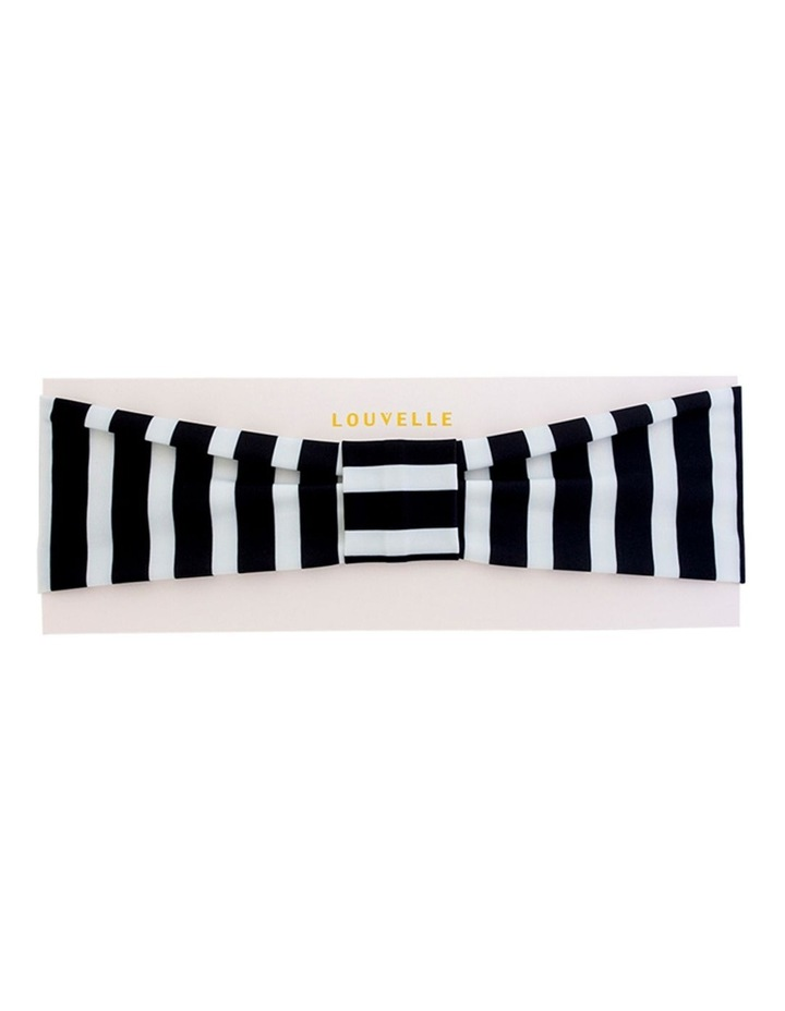 Seraphine Headband in Monochrome Stripe image 1