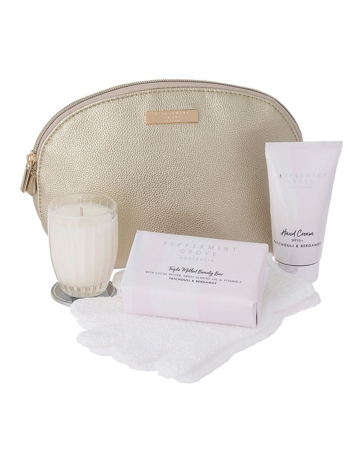 Patchouli & Bergamot - Beauty Bag Gift Set image 1
