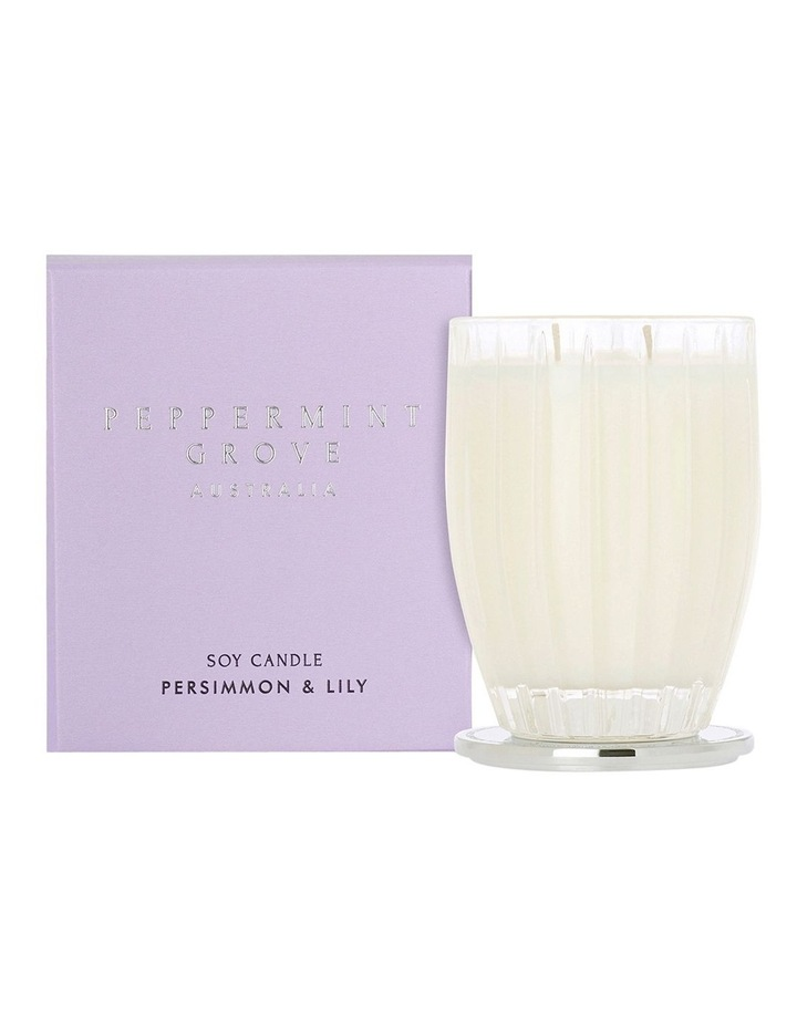 Persimmon & Lily Large Candle 350g image 1