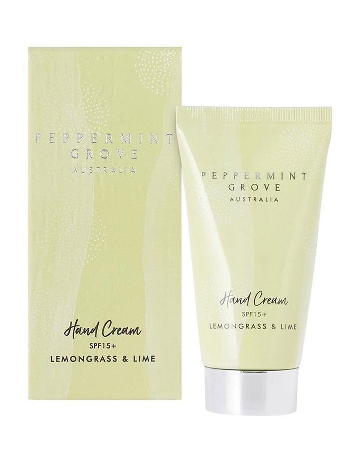 Lemongrass & Lime Hand Cream Tube 75ml image 1