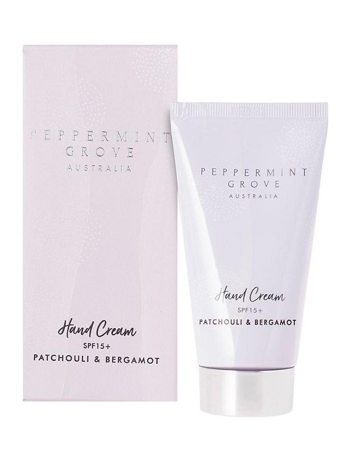 Patchouli & Bergamot Hand Cream Tube 75ml image 1