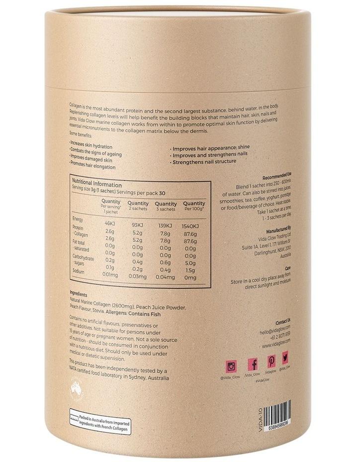 Marine Collagen Peach 30 x 3g Sachets image 2