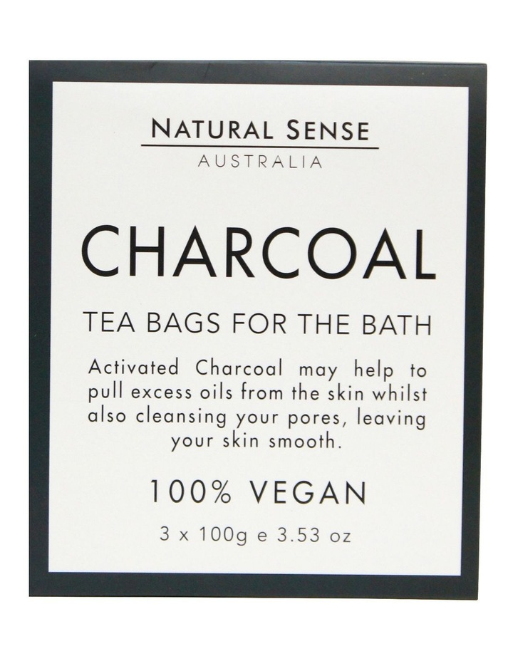 Herbal Remedies Tea Bags Tub - Charcoal 3x image 1