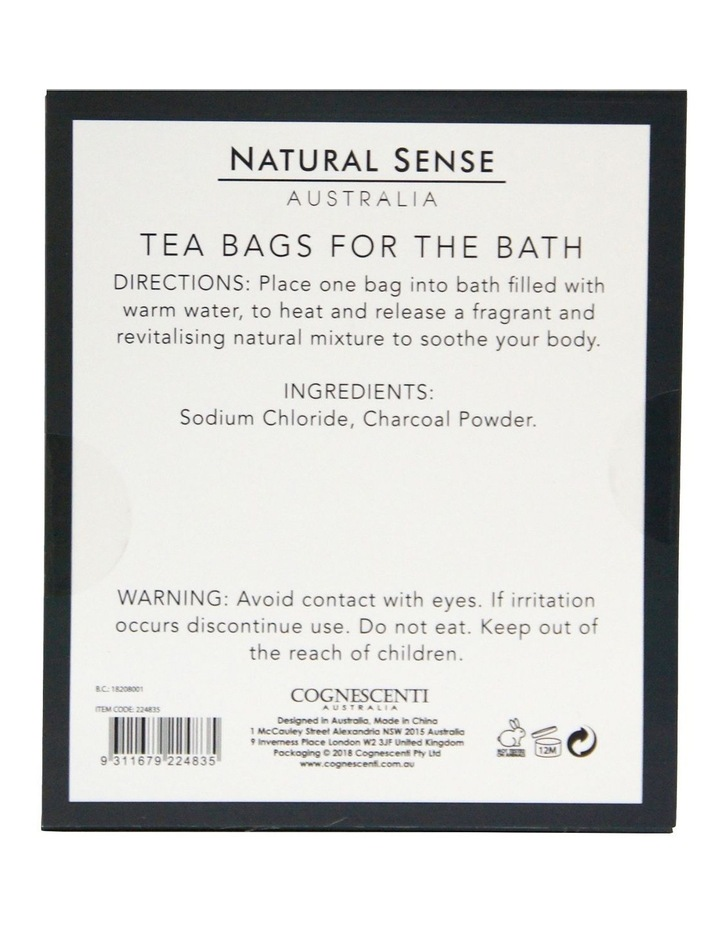 Herbal Remedies Tea Bags Tub - Charcoal 3x image 2