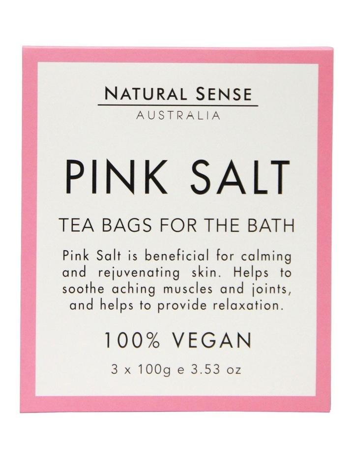 Herbal Remedies Tea Bags Tub - Pink Salt 3x image 1