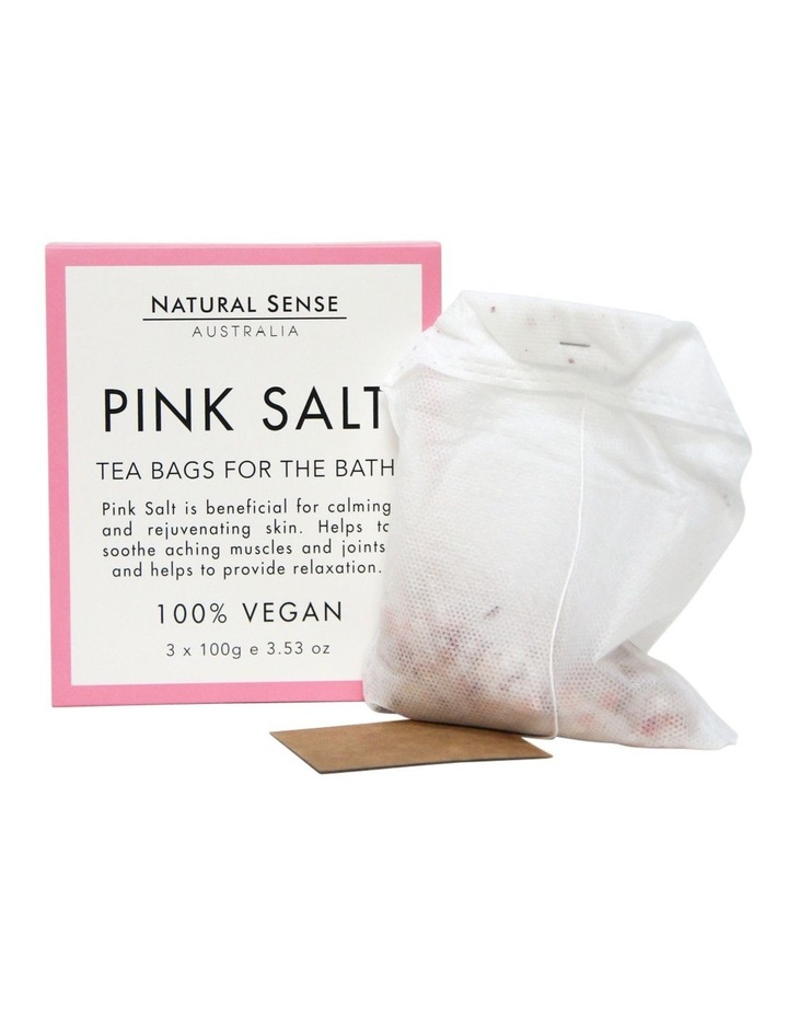 Herbal Remedies Tea Bags Tub - Pink Salt 3x image 3