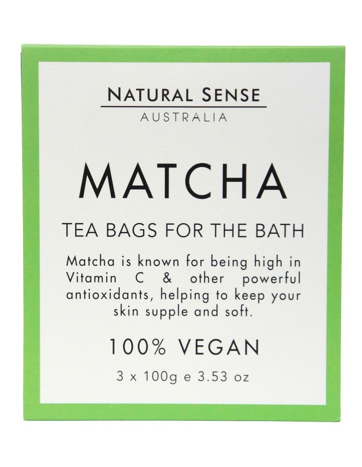 Herbal Remedies Tea Bags Tub - Matcha 3x image 1