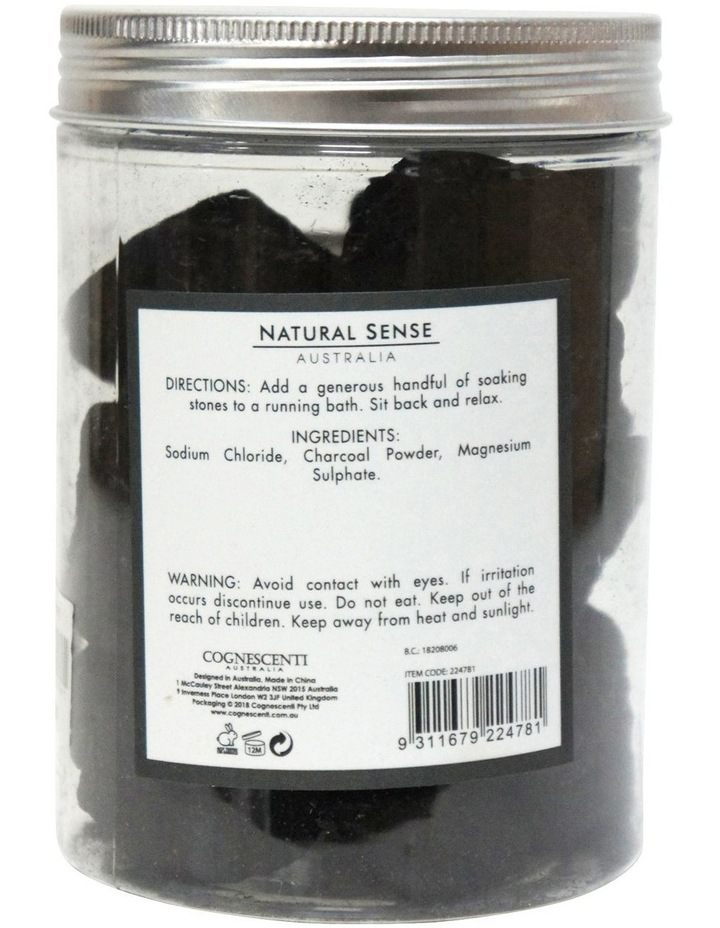 Herbal Remedies Soaking Stones - Charcoal 520g image 2