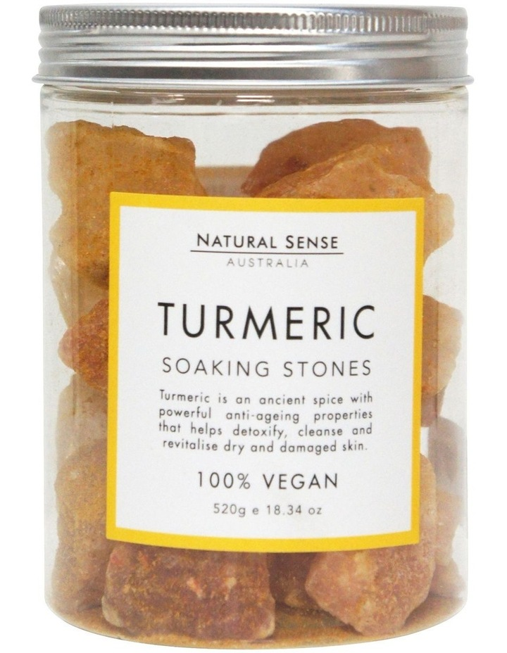 Herbal Remedies Soaking Stones - Tumeric 520g image 1