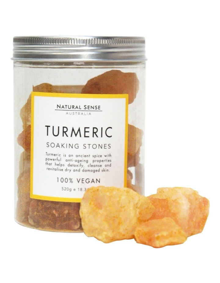 Herbal Remedies Soaking Stones - Tumeric 520g image 3