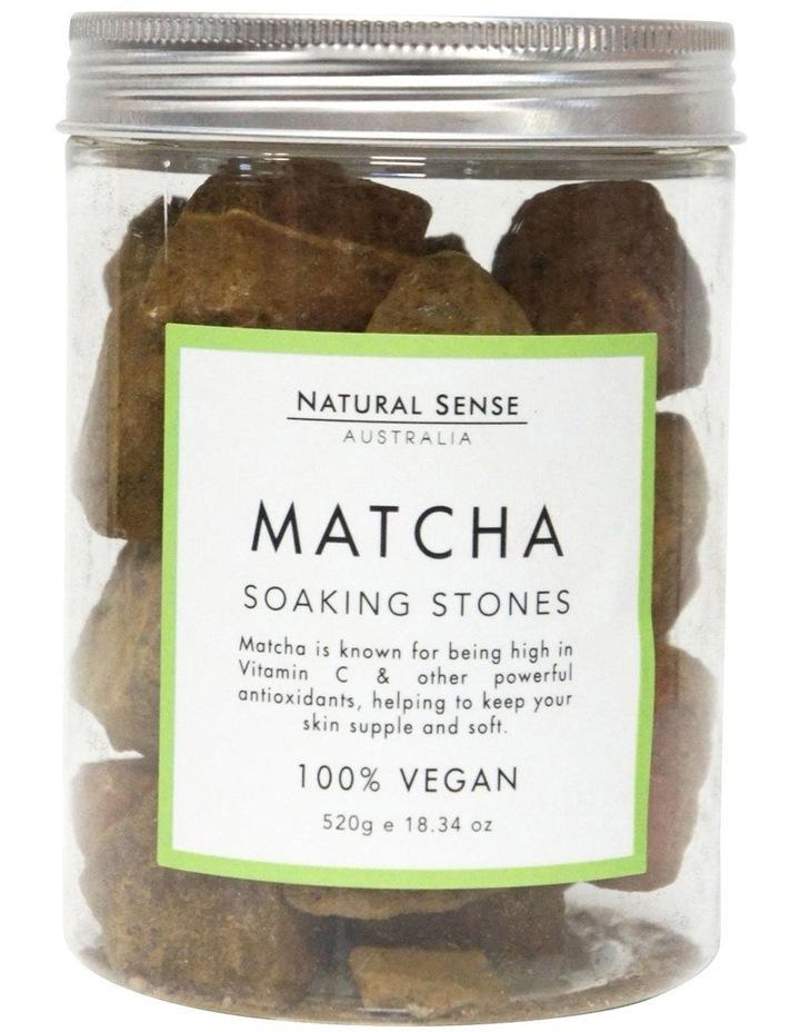Herbal Remedies Soaking Stones - Matcha 520g image 1
