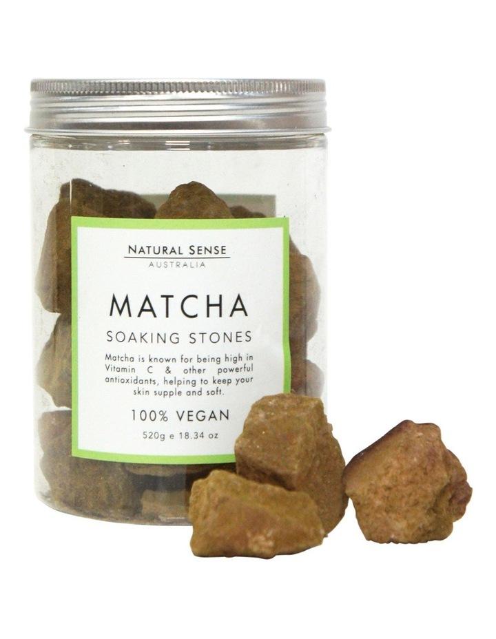 Herbal Remedies Soaking Stones - Matcha 520g image 2