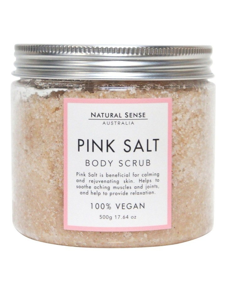 Herbal Remedies Body Scrub - Pink Salt 450g image 1