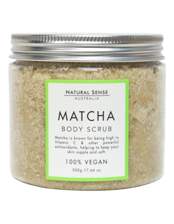 Herbal Remedies Body Scrub - Matcha 450g image 1