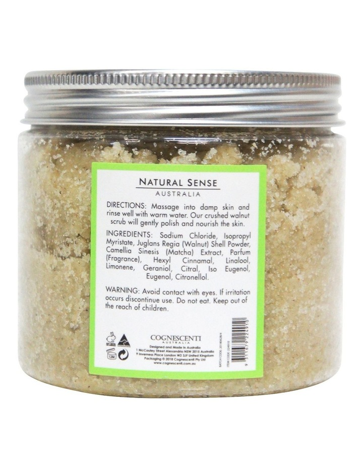 Herbal Remedies Body Scrub - Matcha 450g image 2
