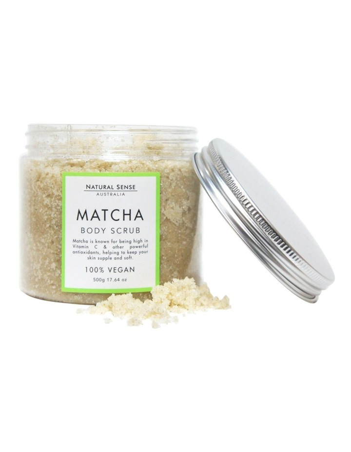 Herbal Remedies Body Scrub - Matcha 450g image 3