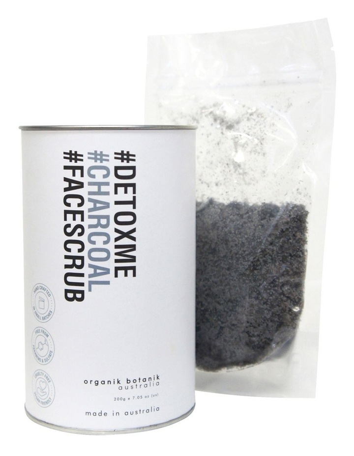 Hashtag Powdered Face Scrub - Charcoal & Salt 200g image 2