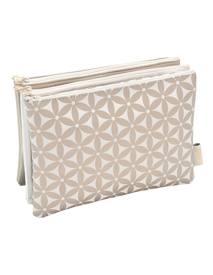 Starflower Gold Amy 3 in 1 Makeup Wallet image 1