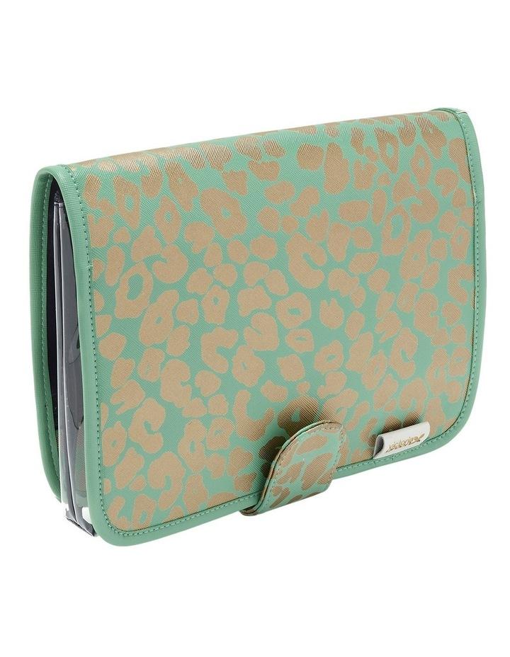 Leopard Jade Kate Beauty Clutch Bag image 1