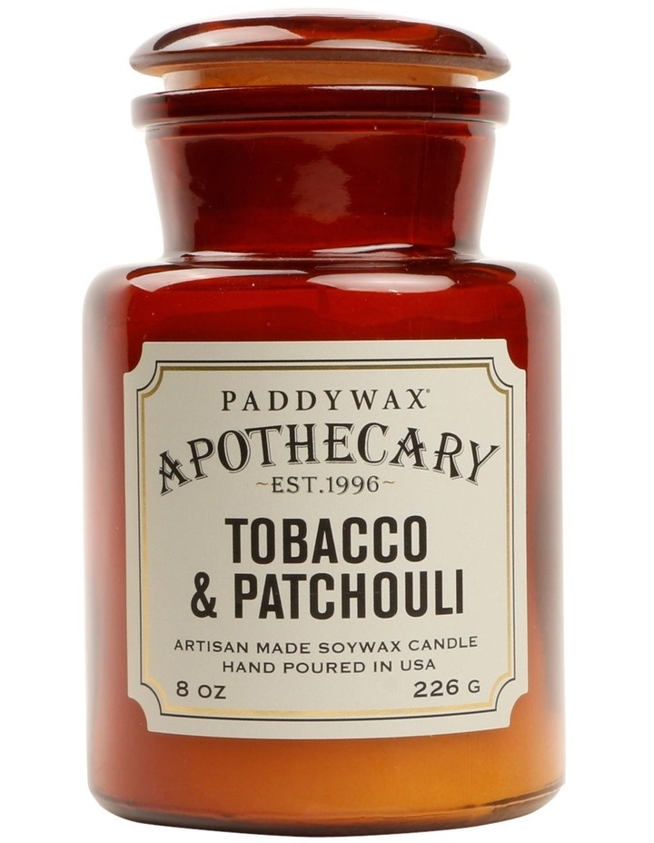 Apothecary Candle-Tabacco & Patchouli image 1