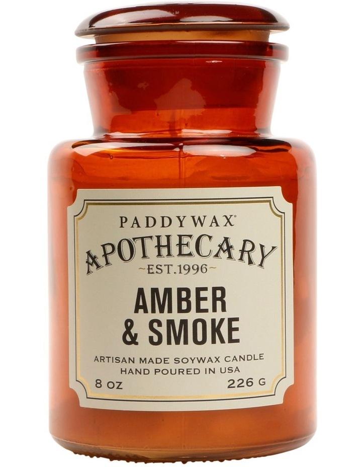 Apothecary Candle-Amber & Smoke image 1