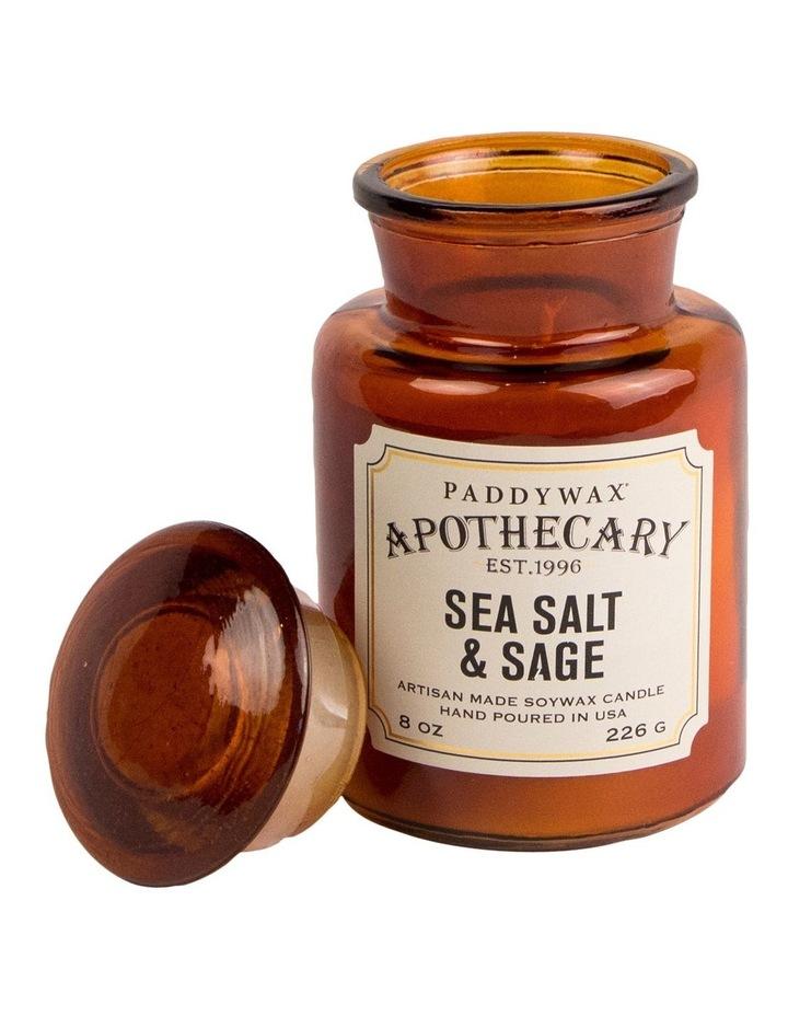 Apothecary Candle-Sea Salt & Sage image 1