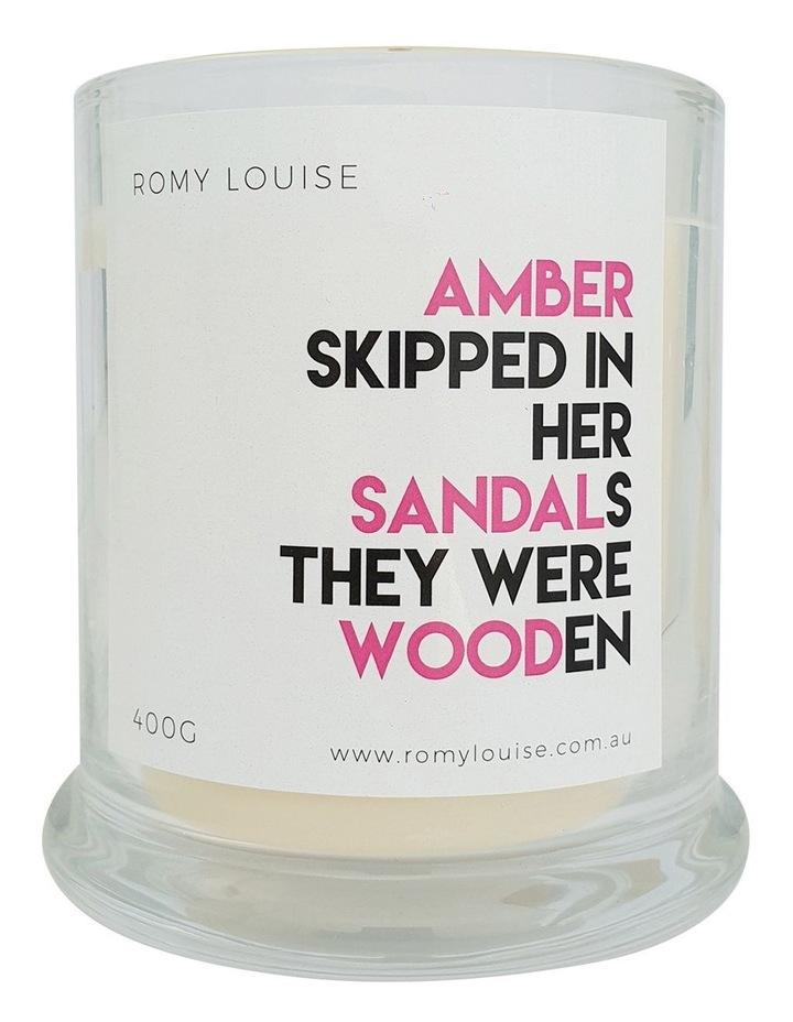 Amber & Sandalwood XL Candle image 1