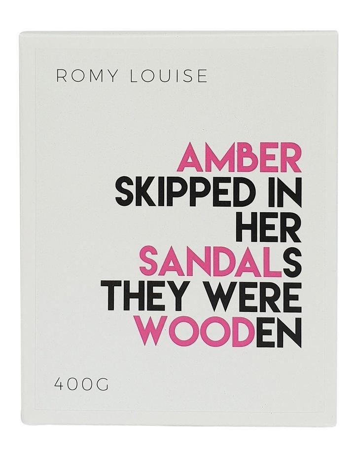 Amber & Sandalwood XL Candle image 3