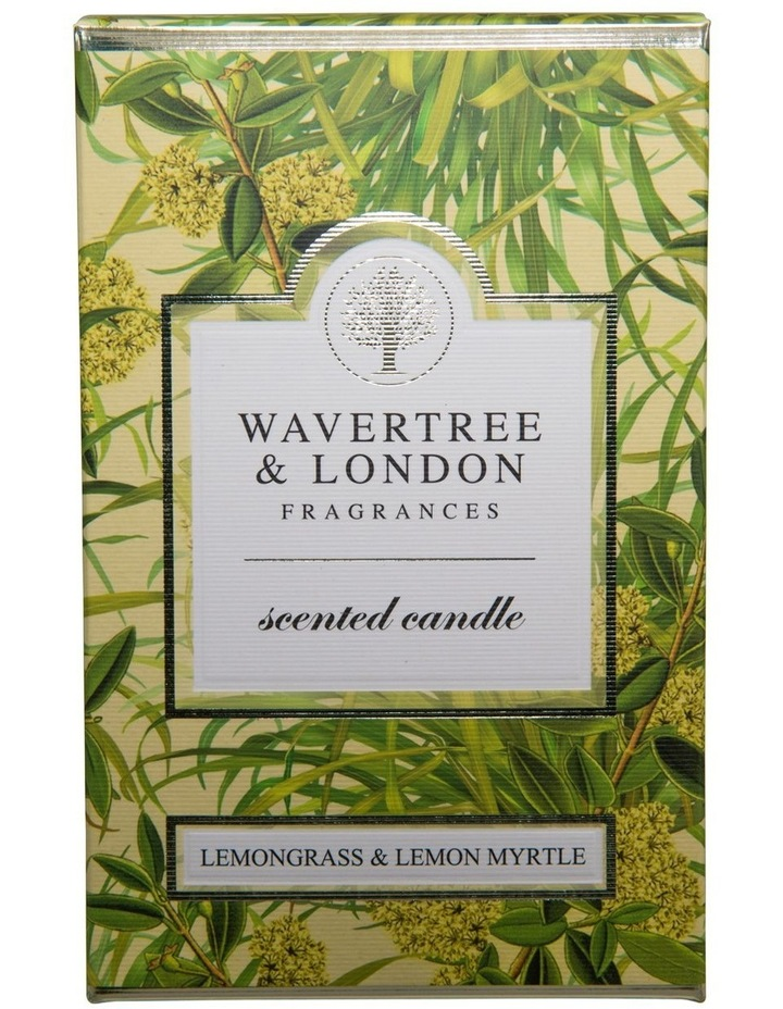 Lemongrass and Lemon Myrtle Candle image 2