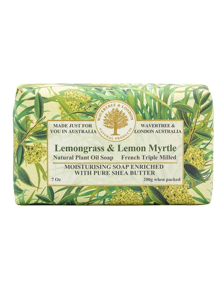 Lemongrass and Lemon Myrtle Soap image 1