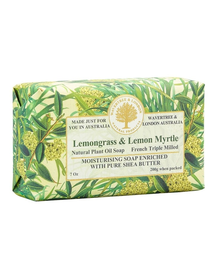 Lemongrass and Lemon Myrtle Soap image 2