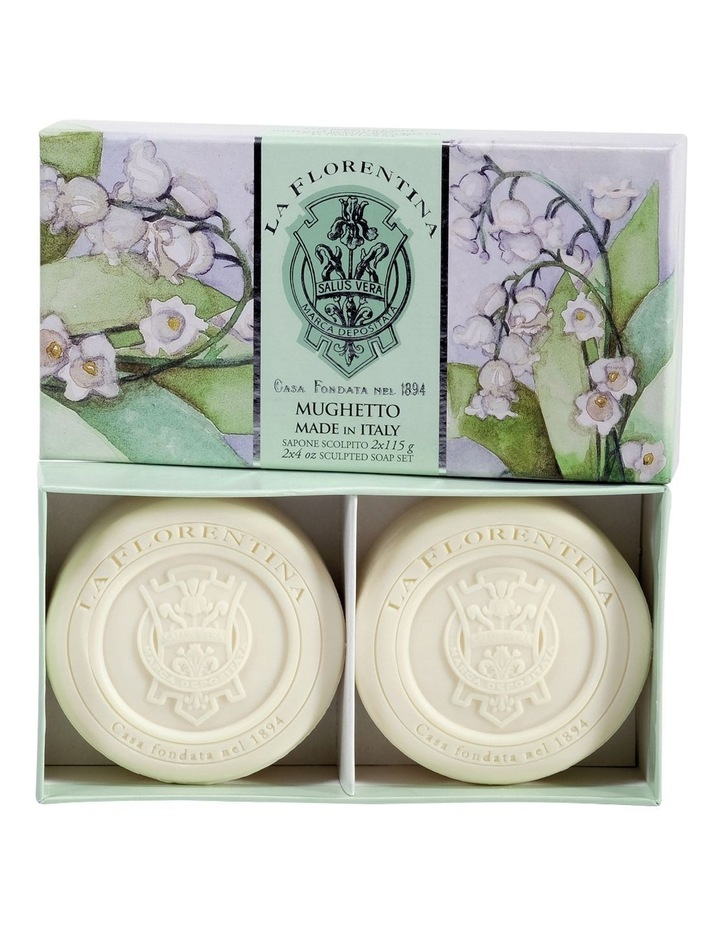 2 Bar Soaps Lily of the Valley image 1